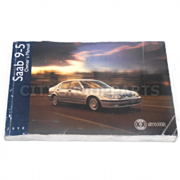 SAAB 9-5 95 MODELS 2.0 2.3 3.0 FROM 1998 TO 2001 OWNERS HANDBOOK MANUAL
